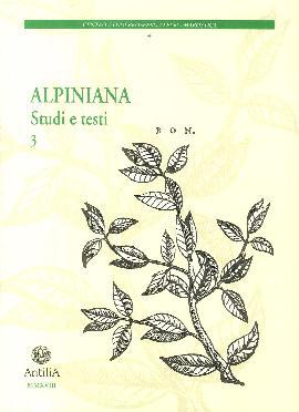 Alpiniana. Studi e testi. Vol. 3
