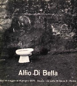 Alfio di Bella dal 10 Maggio al 4 Giugno 1975