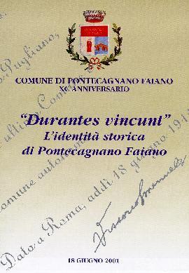 Durantes vincunt. L'identità storica di Pontecagnano Faiano